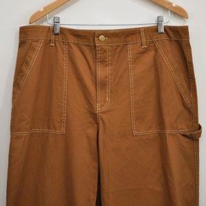 267cc7f09f wild fable Pants - Wild Fable Women's Wide Leg Carpenter pants